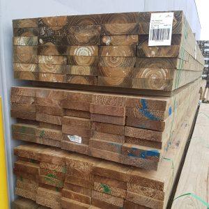 Treated Pine H4 Sleeper 200 x 50 2.1m