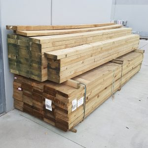 Treated Pine H4 Sleeper 200 x 50 2.4m