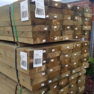 Treated Pine H4 Sleeper 200 x 50 2.7m