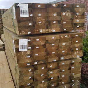 Treated Pine H4 Sleeper 200 x 50 3.0m