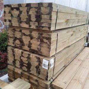 Treated Pine H4 Sleeper 200 x 50 3.6m