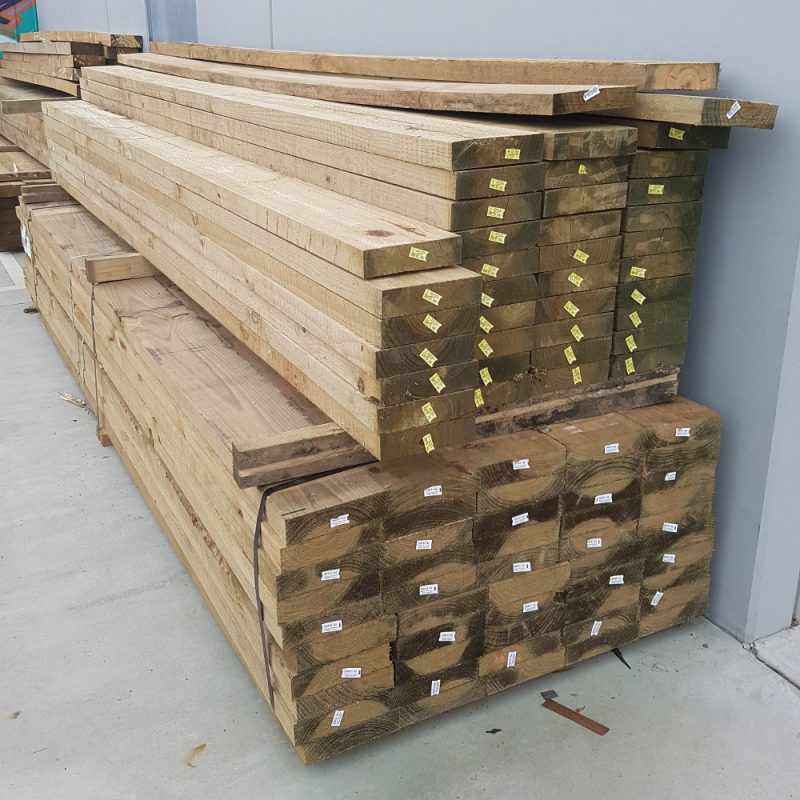 Treated Pine Sleeper/Plinth 200 x 50 5.4m