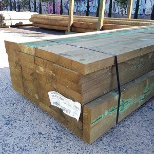 Treated Pine H4 Sleeper 200 x 50 Arsenic Free