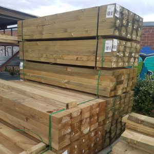 Treated Pine H4 Sleeper 200 x 75 2.7m