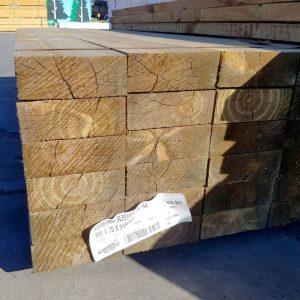 Treated Pine H4 Sleeper 200 x 75 Arsenic Free