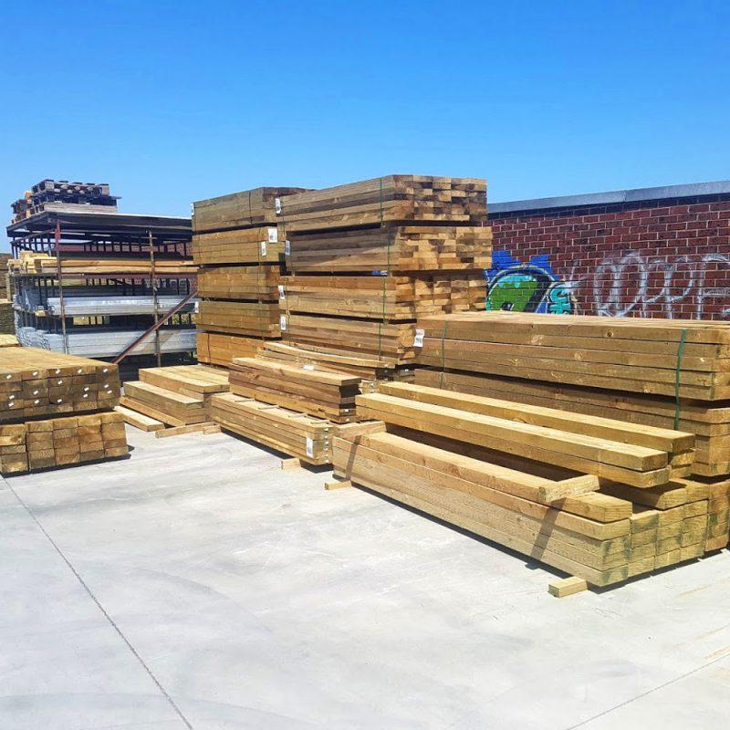 Treated Pine H4 Sleeper 200 x 100 3.0m
