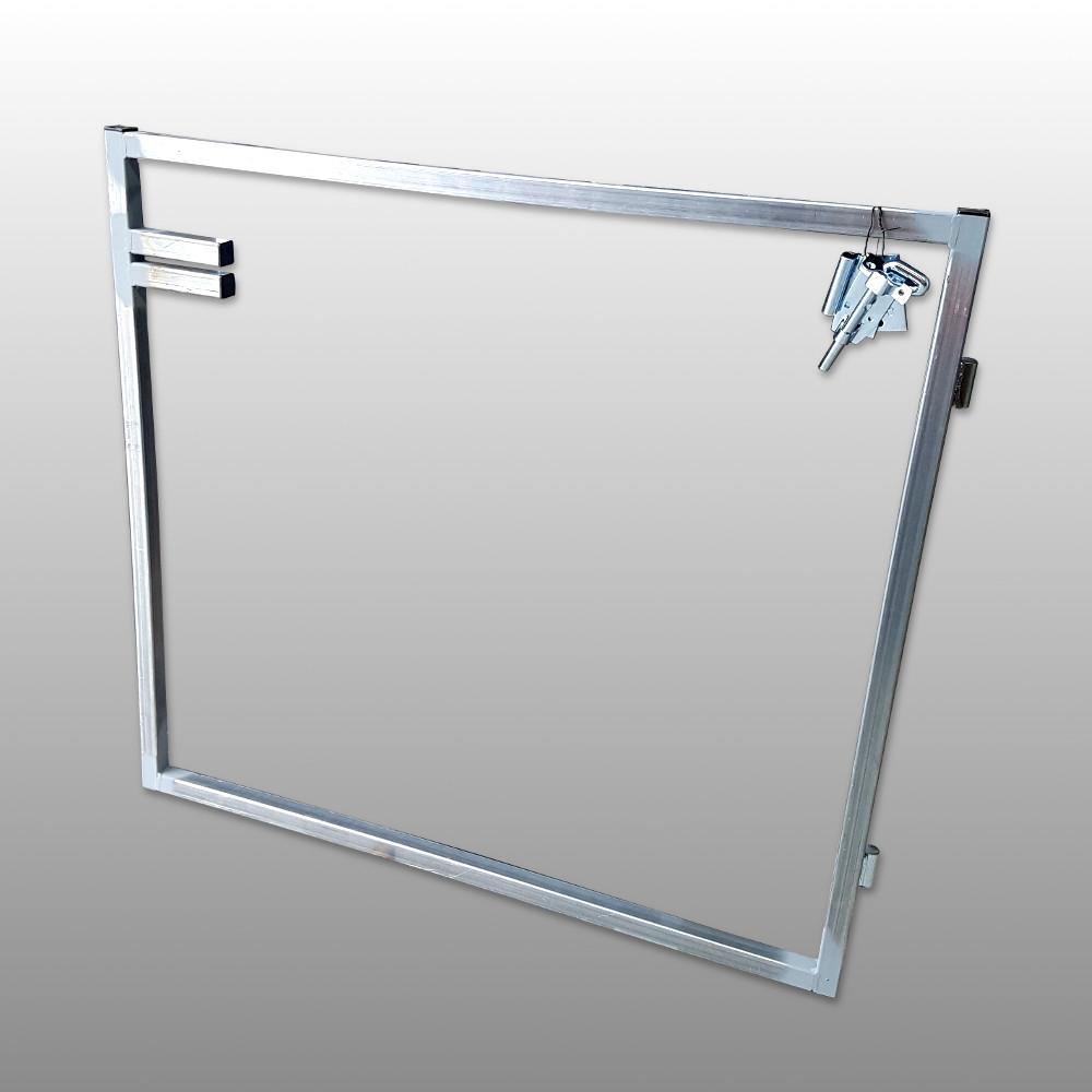 Sngl Steel Gate Frame 1200 x 1000 – Lifetime Pine